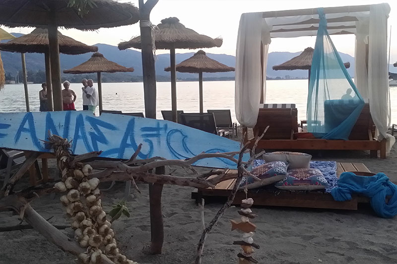 Anasa Beach Bar Poros