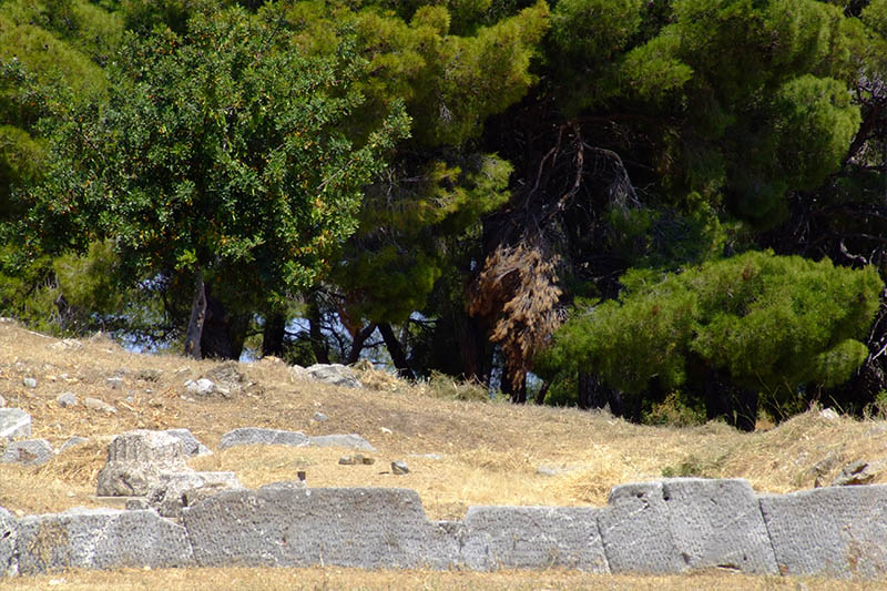 Ancient monuments in Poros