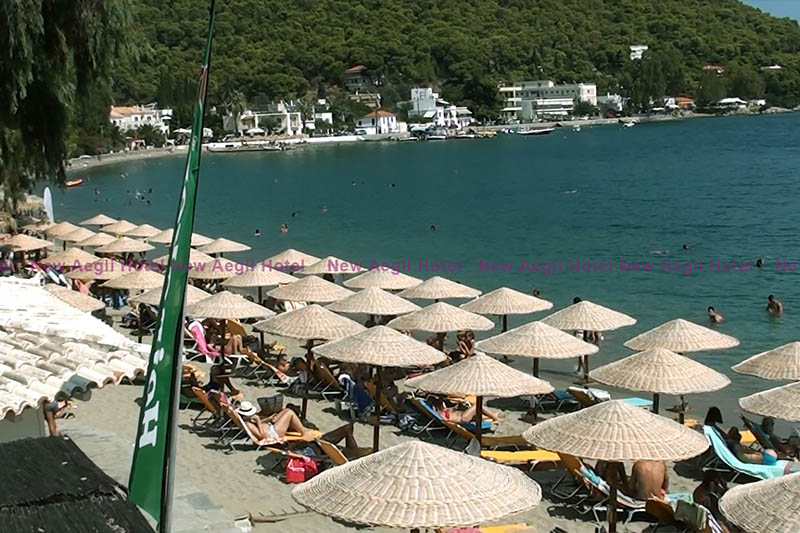 New Aegli Beach Bar - Poros Island