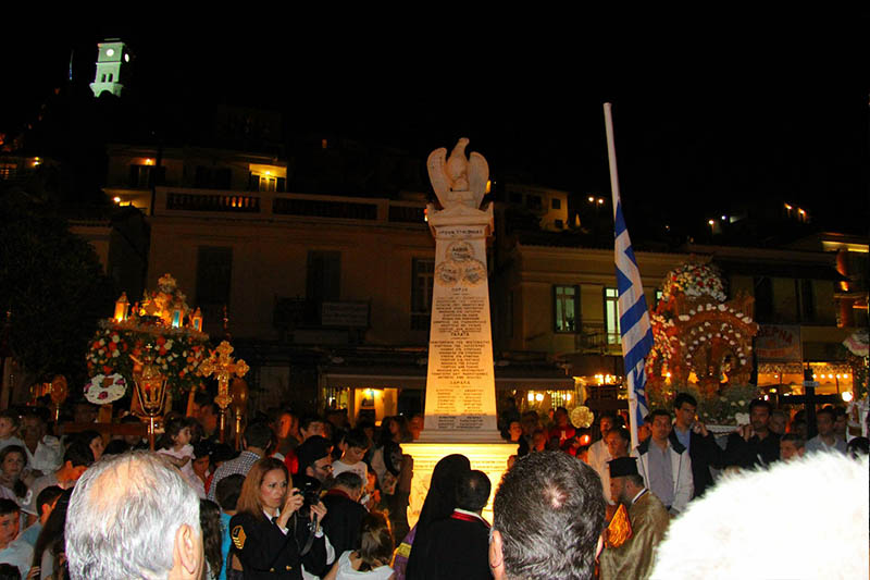 Easter in Poros island